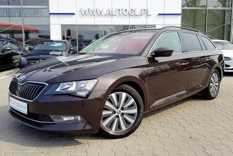 Skoda Superb Combi 1,6 CR TDi 120KM GreenLine Ambition